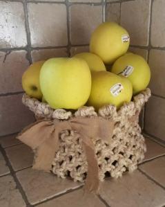 Cestino frutta - Macramè